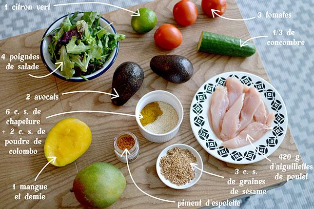 ingredients-salade-mangue-poulet