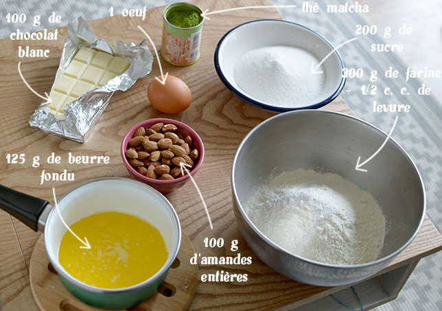 ingredients-cookies-matcha