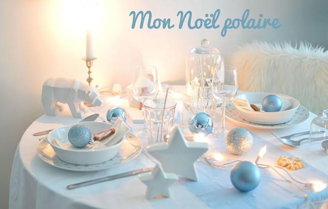 No l polaire la table les yeux en amande - La table de noel ...