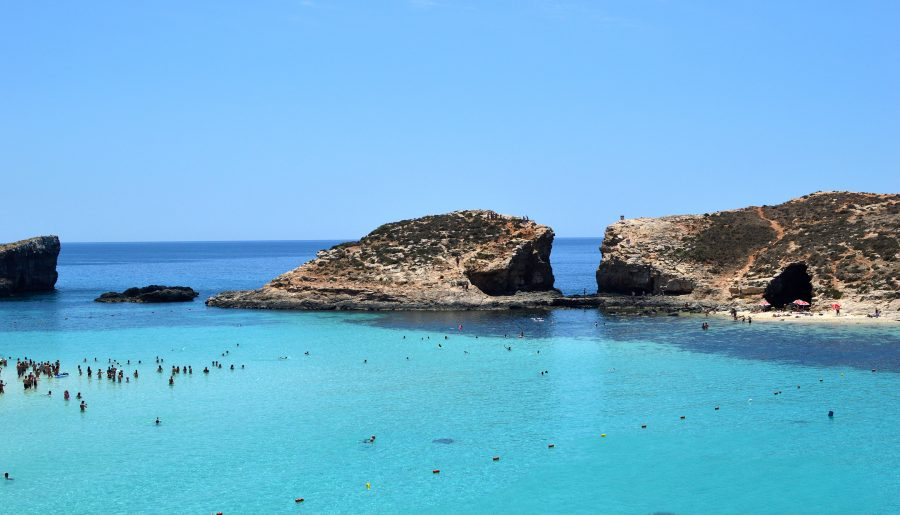 GOZO ET COMINO : 50 SHADES OF BLUE