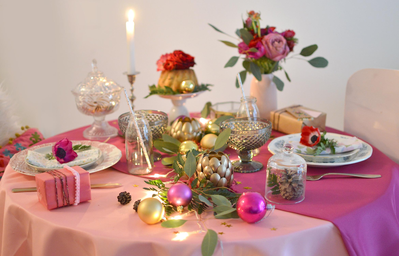 #9A5E31 MA TABLE DE NOËL BOHÈME Les Yeux En Amande 6201 decoration de table de noel tete a modeler 2340x1504 px @ aertt.com